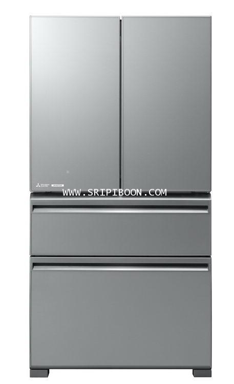 ตู้เย็น 4 ประต MITSUBISHI มิตซูบิชิ MR-LX60EP ระบบ INVERTER ประหยัดไฟ 19.6 คิว บริการจัดส่งถึงบ้าน!.