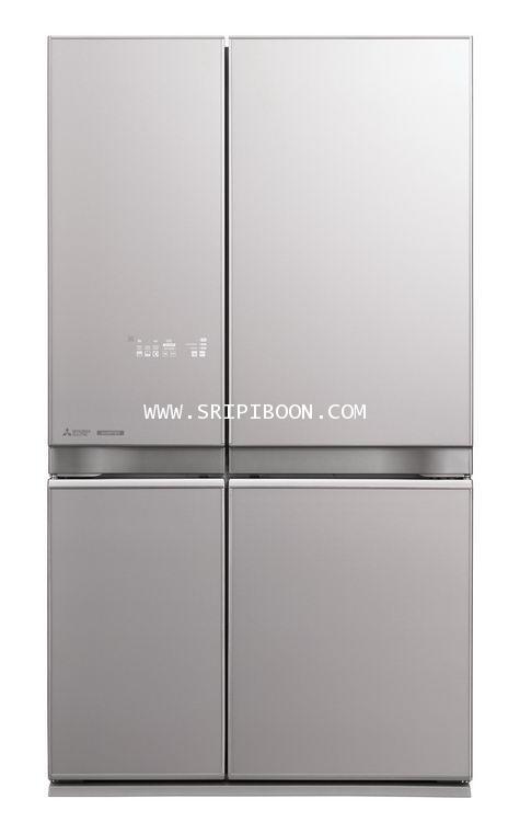 ตู้เย็น 4 ประตู MITSUBISHI มิตซูบิชิMR-L65EP ระบบ INVERTER ประหยัดไฟ 20.5 คิว บริการจัดส่งถึงบ้าน!.