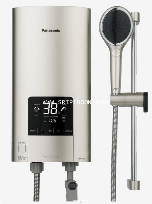 เครื่องทำน้ำอุ่น PANASONIC พานาโซนิค DH-6ND1TS  ขนาด 6,000 W บริการส่งฟรี!.ถึงบ้านโทร.02-8050094-5