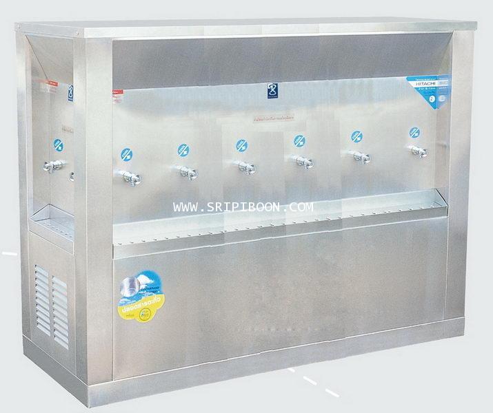 ตู้ทำน้ำเย็น แบบ 3 ด้าน 10 หัวก๊อก MAXCOOL แม็คคูล รุ่น OASIS OS-6 แบบแผงรังผึ้ง E79XX