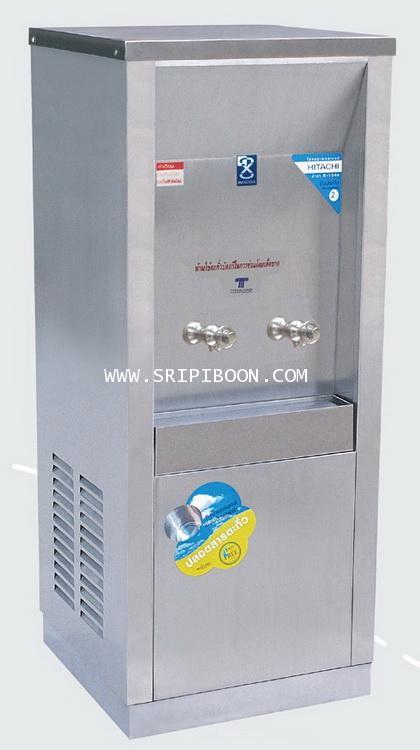 ตู้ทำน้ำเย็น แบบ ต่อท่อประปา MAXCOOL แม็คคูล รุ่น MC-2P 2หัว (ก๊อกตุ๊กตา) แบบแผงรังผึ้ง AI7XX