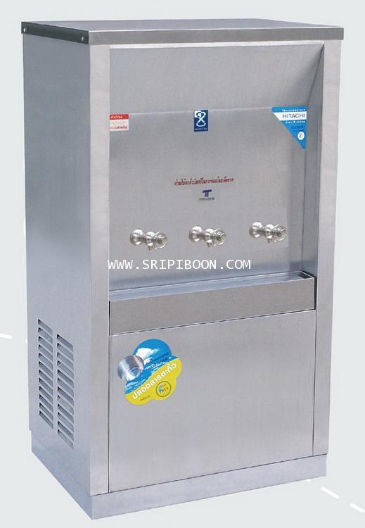ตู้น้ำเย็น แบบ ต่อท่อประปา MAXCOOL แม็คคูล รุ่น MC-3P  3 หัว (ก๊อกตุ๊กตา) แบบแผงรังผึ้ง A6IXX