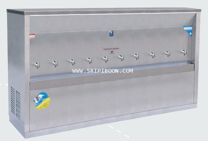 ตู้ทำน้ำเย็น  แบบ ต่อท่อประปา MAXCOOL แม็คคูล รุ่น MC-10P-(200) (ระบายความร้อนแบบแผงรังผึ้ง) IU7XX
