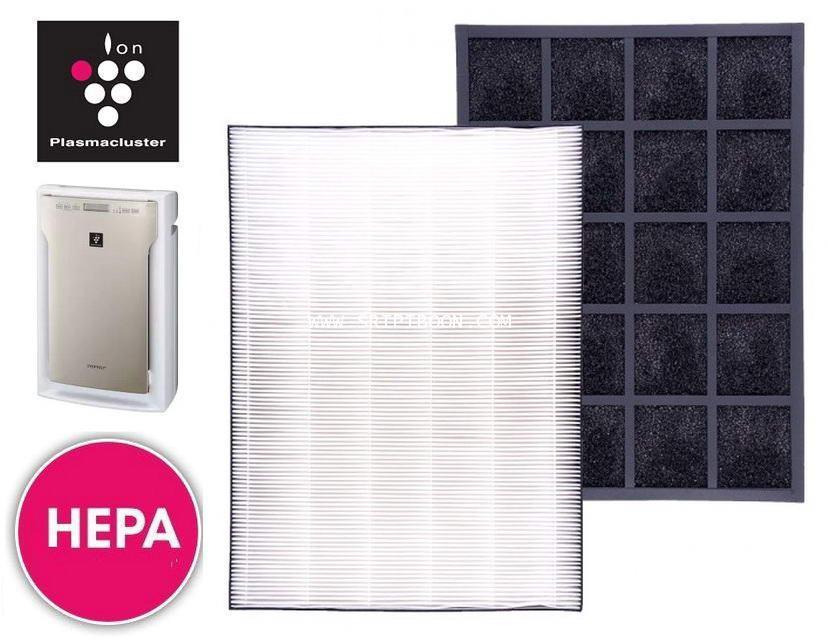 แผ่นฟอกอากาศ SHARP ชาร์ป  รุ่น FU-A80TA (ของแท้) ใช้ (HEPA filter เฮปา FZ-A80SFE)