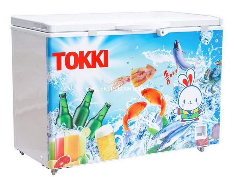 ตู้แช่เบียร์วุ้น TOKKI ต๊อกกี่ TKC-109B ขนาด 9 คิว (ขนาด 105 ขวด)  -8 องศา แสดงผลด้วยตัวเลข Digital