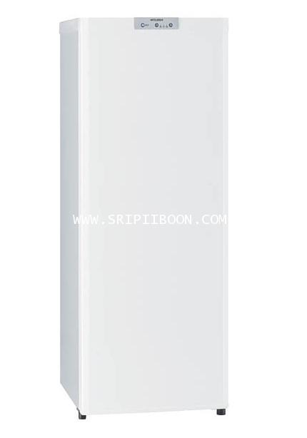ตู้แช่แข็ง MITSUBISHI มิตซูบิชิ MF-U14S ขนาด 5.1 คิว (ตู้แช่แข็งแบบยืน NO-Frost) จัดส่งด่วน!.ฟรี