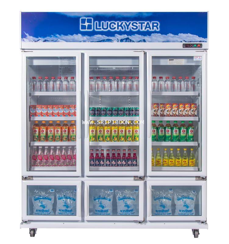 ตู้แช่เย็น รุ่น CANYON F612N LuckyStar ลักกี้สตาร์  ช่องแช่เย็น 30 แช่แข็ง 9 คิว