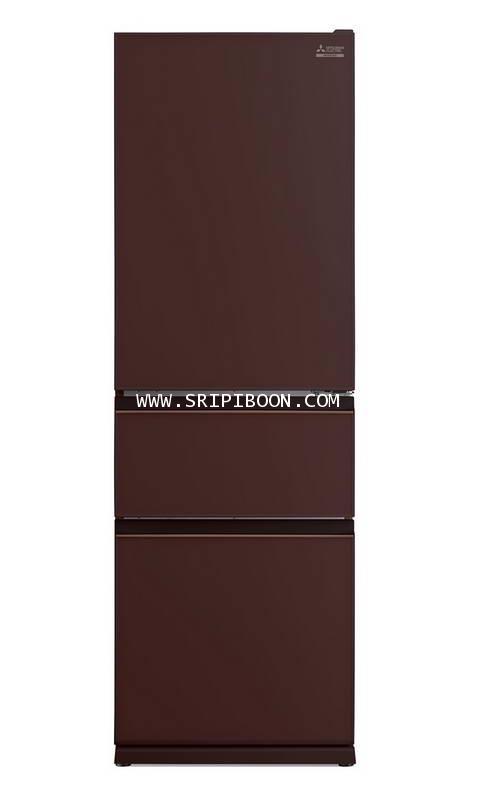 ตู้เย็น 3 ประตู MITSUBISHI มิตซูบิชิ MR-CGX42EP ระบบ INVERTER   12.6 คิว บริการจัดส่งถึงบ้าน!.