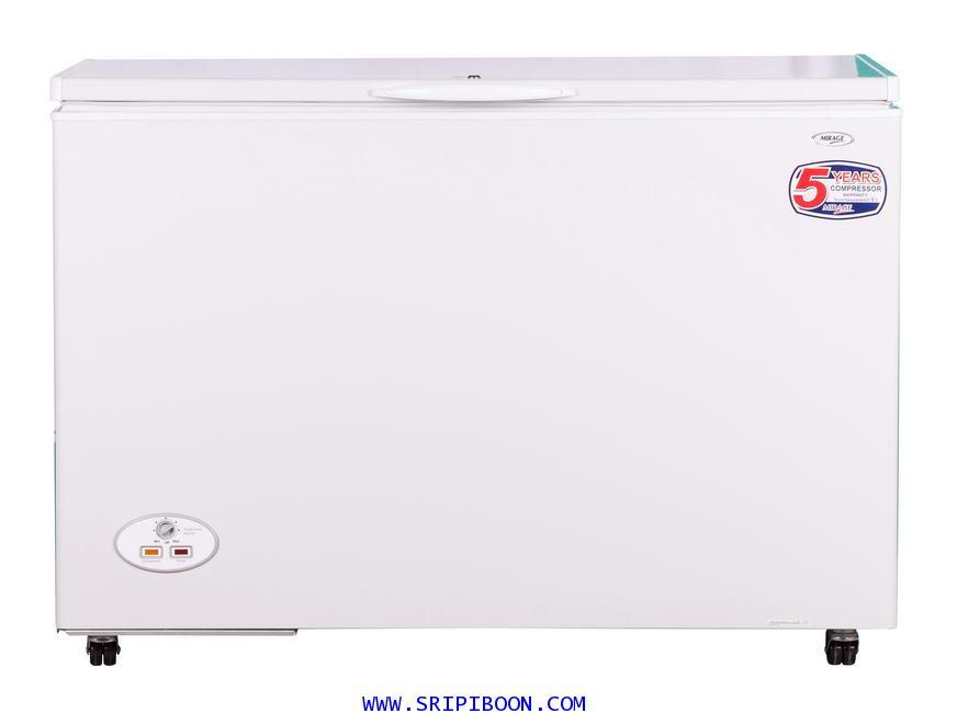 ตู้แช่; ตู้แช่แข็ง MIRAGE มิลาด รุ่น FZ-380GYNN ขนาด 13.5 คิว บริการจัดส่งถึงบ้าน!.ฟรี