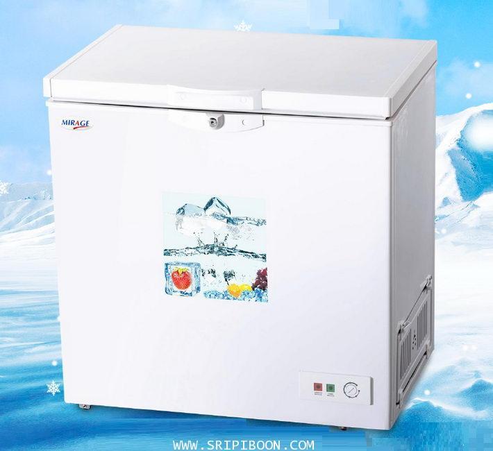 ตู้แช่แข็ง MIRAGE มิลาจ รุ่น EC-160 ขนาด 5.6 คิว / 160 ลิตร บริการจัดส่งถึงบ้าน!.ฟรี