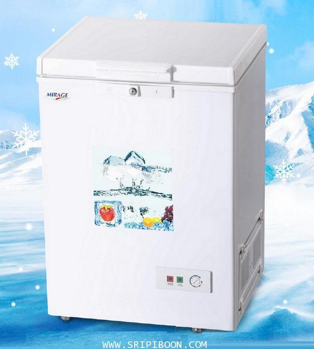 ตู้แช่แข็ง MIRAGE มิลาจ รุ่น EC-120 ขนาด 4.2 คิว / 120 ลิตร บริการจัดส่งถึงบ้าน!.ฟรี