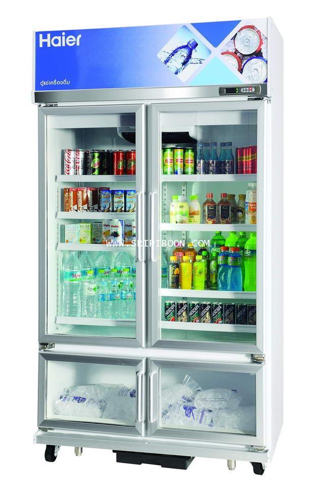 ตู้แช่เครื่องดื่ม, ตู้แช่เย็น รุ่น SC-1300PCS4 HAIER ไฮเออร์  - 17 คิว และ 6 คิว บริการจัดส่งถึงบ้าน
