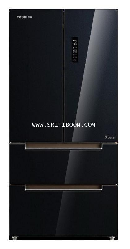 ตู้เย็น 4 ประตู TOSHIBA โตชิบ้า GR-RF532WE-PGT ขนาด 18.1 คิว  บริการจัดส่งถึงบ้าน!.โทร. 02-8050094-