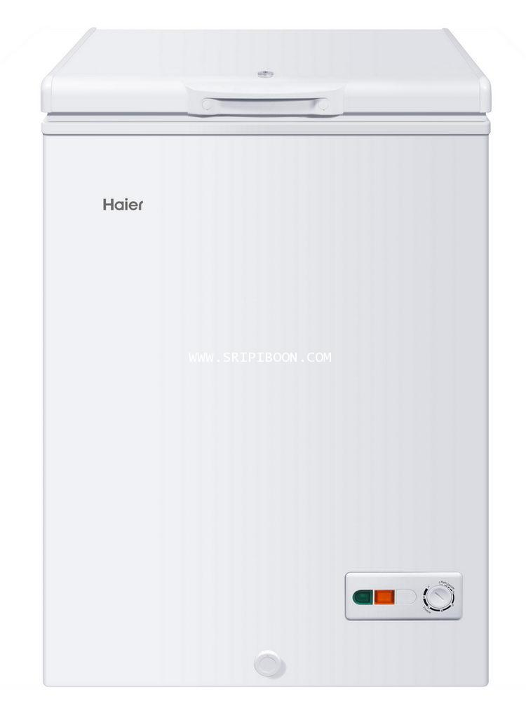 ตู้แช่เย็น+ตู้แช่แข็ง HAIER ไฮเออร์ HCF108C (ตู้แช่ 2 ระบบ) 3.7 คิว  ส่งด่วน!.ฟรี