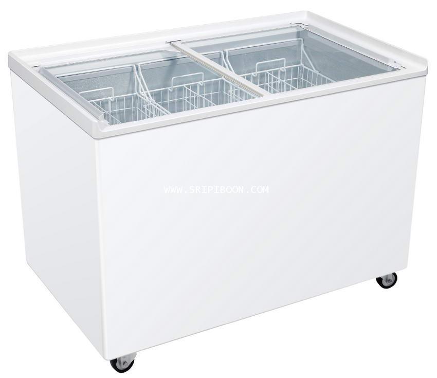 ตู้แช่ ; ตู้แช่เย็น  HAIER ไฮเออร์ SD-376R ขนาด 10.2 คิว จัดส่งด่วน!.ฟรี