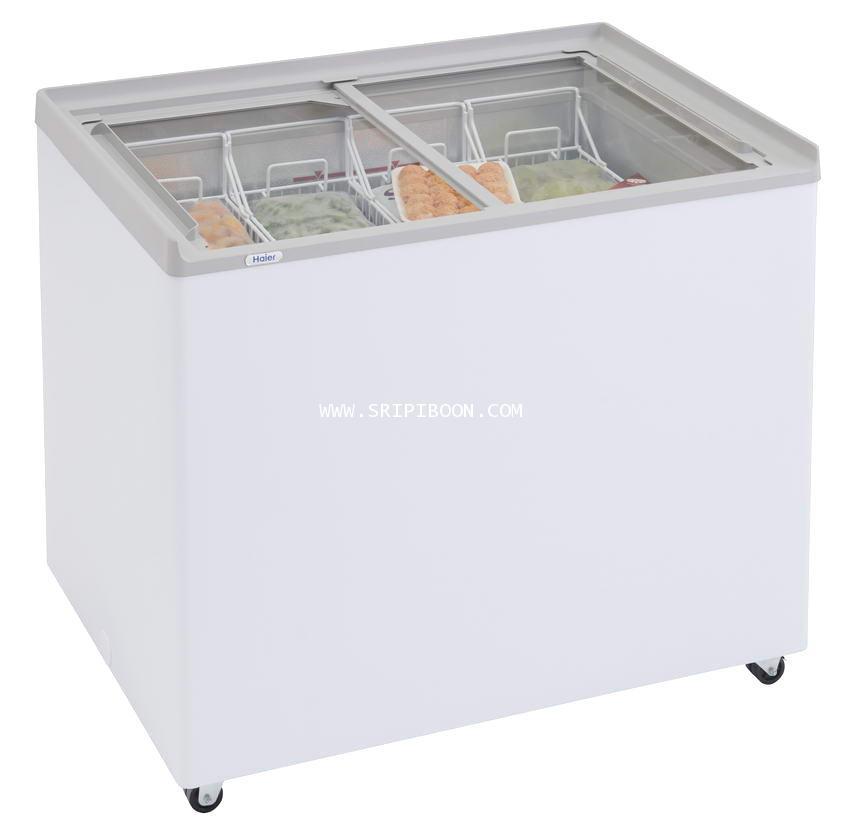 ตู้แช่ ; ตู้แช่เย็น  HAIER ไฮเออร์   SD-296R ขนาด 8 คิว จัดส่งด่วน!.ฟรี