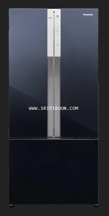 ตู้เย็น PANASONIC พานาโซนิค 3 ประตู NR-CY550AKTH ระบบ ECONAVI ขนาด 17.5 คิว บริการจัดส่งถึงบ้าน!.