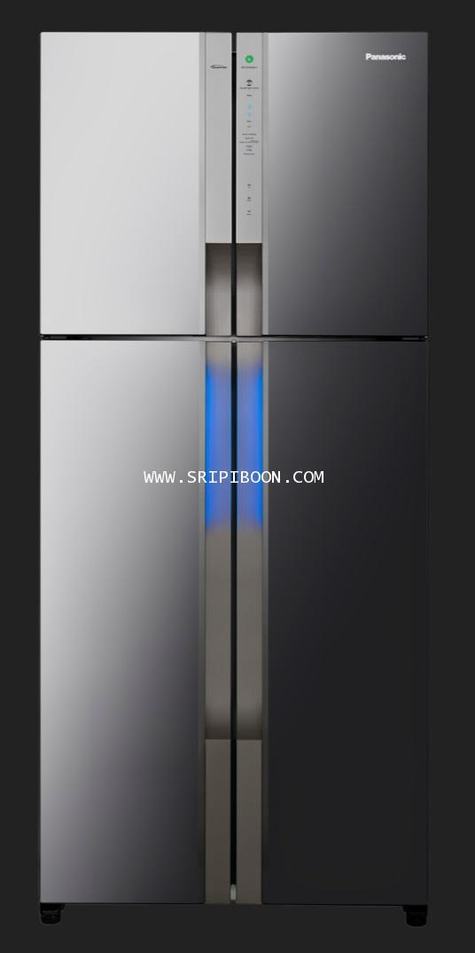 ตู้เย็น PANASONIC พานาโซนิค 4 ประตู NR-DZ600MBTH ระบบ ECONAVI ขนาด 19.4 คิว บริการจัดส่งถึงบ้าน!.