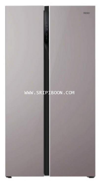 ตู้เย็น 2 ประตู HAIER ไฮเออร์  HRF-SBS600 ขนาด 21.3 คิว โทร.02-8050094-5
