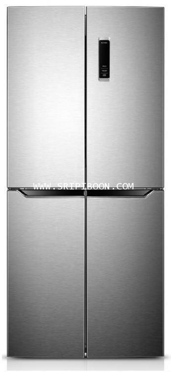 ตู้เย็น Side By Side HAIER ไฮเออร์ รุ่น HRF-MD 350STL  ขนาด 13.6 คิว ราคาพิเศษ!. โทร. 02-8050094-5