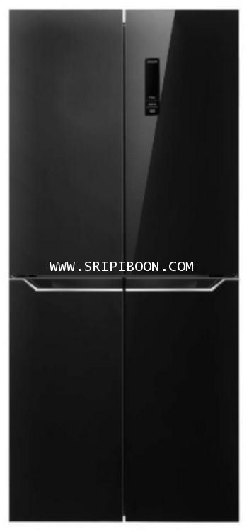 ตู้เย็น Side By Side HAIER ไฮเออร์ รุ่น HRF-MD430GB ขนาด 15.5 คิว ราคาพิเศษ!. โทร. 02-8050094-5