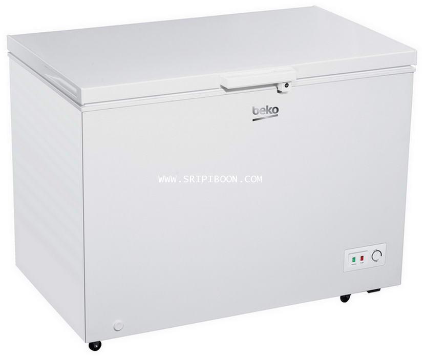 ตู้แช่แข็ง+ตู้แช่เย็น BEKO เบโค CF316WT 11.2 คิว  ส่งด่วน!.ฟรี