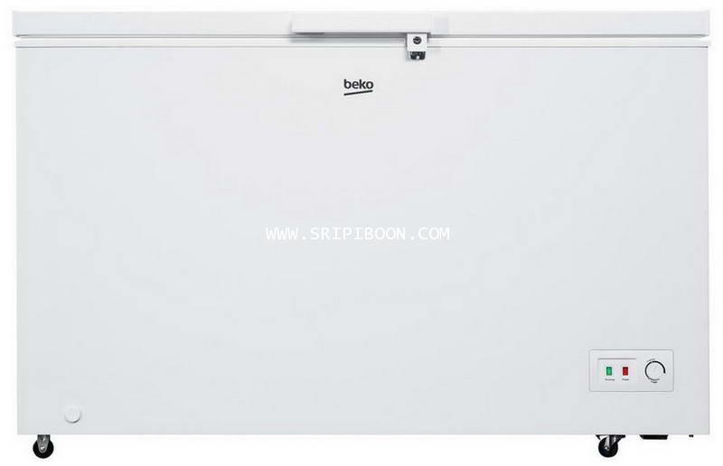 ตู้แช่แข็ง+ตู้แช่เย็น BEKO เบโค CF380WT 13.4 คิว  ส่งด่วน!.ฟรี