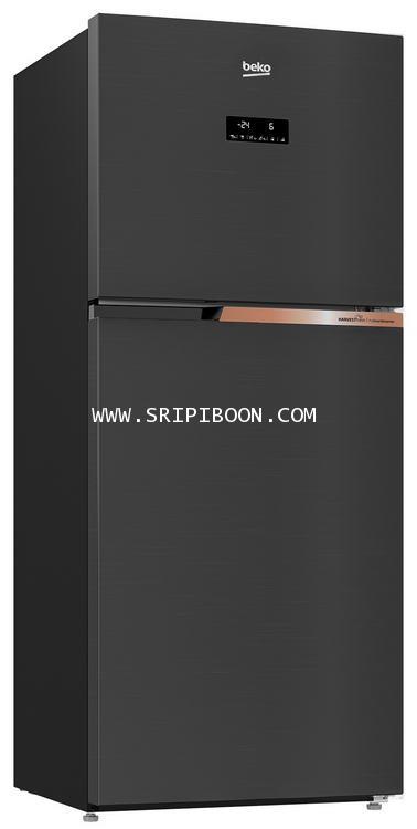 ตู้เย็น 2 ประตู BEKO เบโค รุ่น RDNT371E50VK ขนาด 12 คิว บริการจัดส่งถึงบ้าน! โทร.02-8050094-5
