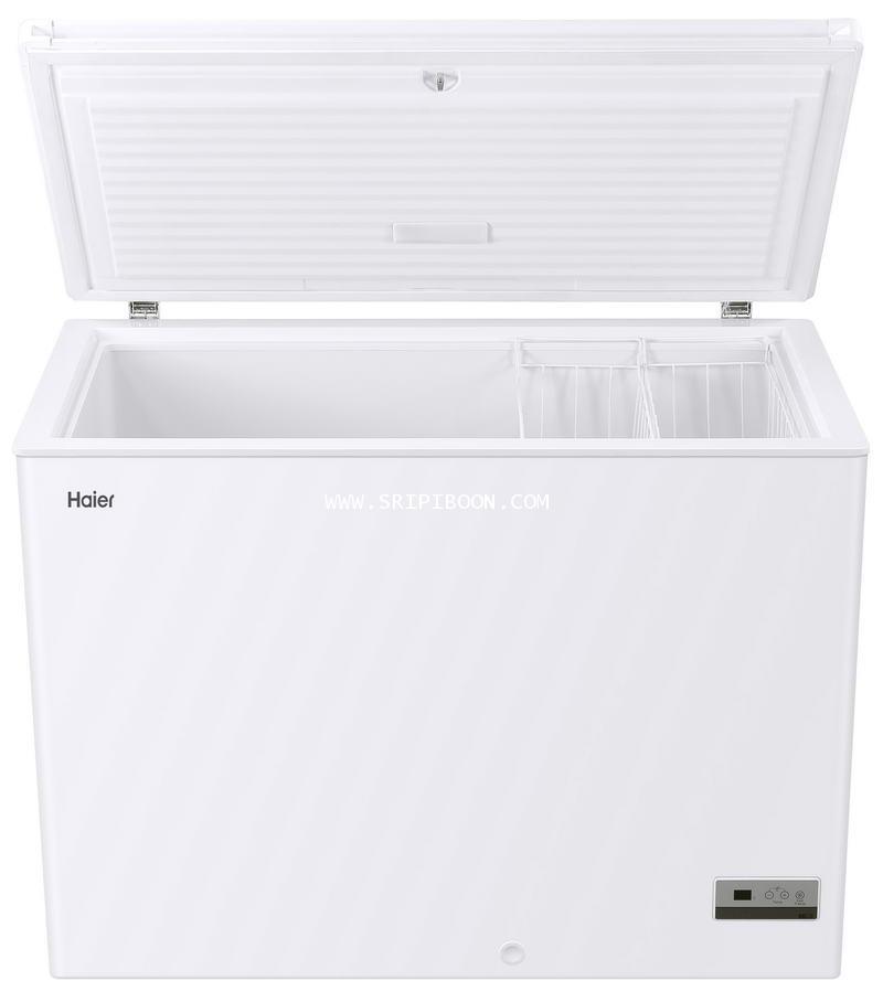 ตู้แช่ ; ตู้แช่แข็ง+แช่เย็น  HAIER ไฮเออร์ HCF-350DP ขนาด 10.8 คิว ระบบ digital จัดส่งด่วน!.ฟรี