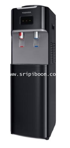 เครื่องทำน้ำเย็น - น้ำร้อน TOSHIBA โตชิบ้า รุ่น RWF-W1664TK(K) ถังคว่ำ