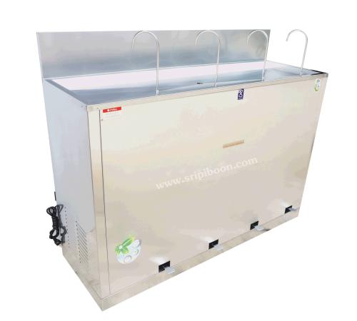 ตู้ทำน้ำเย็น MAXCOOL แม็คคูล MC-RFE4  แบบงวง เท้าเหยียบ 4 หัว สอบถามราคาโทร.โทร.02-8050094-5