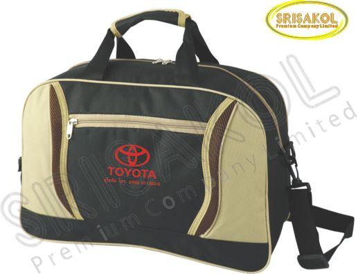 กระเป๋าเดินทาง สีดำ สลับ สีกากี รหัส A1836-16B