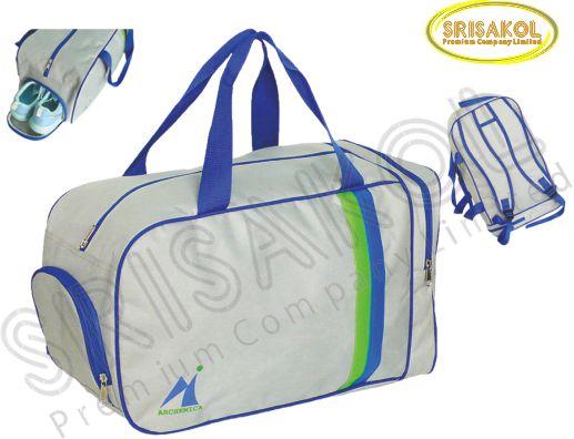 กระเป๋าเดินทาง สีเทาอ่อน รหัส A1847-18B