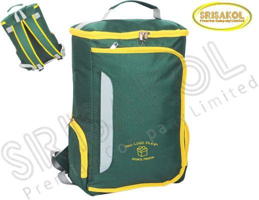 กระเป๋าเป้ใส่ Note book สีเขียว  รหัส A1827-14B