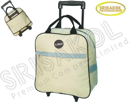 กระเป๋ามีล้อลาก  สีกากี รหัส A1827-9B