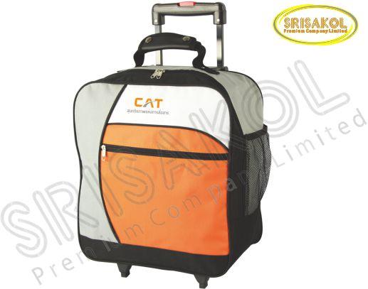 กระเป๋ามีล้อลาก  สีเทา/สีดำ สลับ สีขาว/สีส้ม รหัส A1835-3B