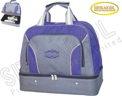 กระเป๋ากอล์ฟ สีม่วง สลับ สีเทา รหัส A1826-7B