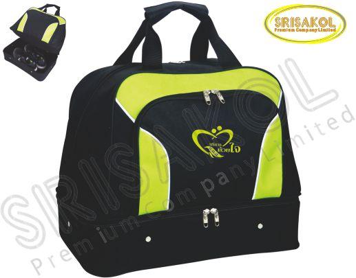 กระเป๋ากอล์ฟ สีดำ สลับ สีเขียว รหัส A1829-10B
