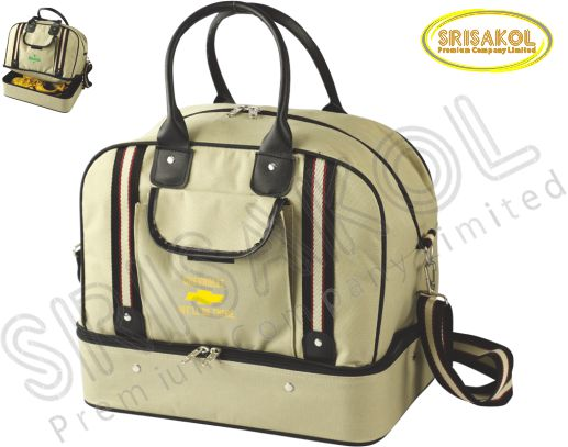 กระเป๋ากอล์ฟ สีกากี รหัส A1832-2B