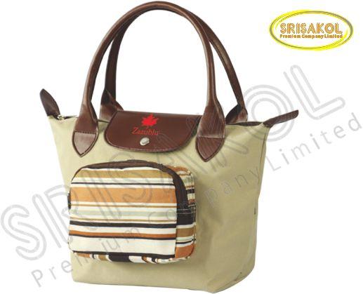 กระเป๋าช้อปปิ้ง สีกากี รหัส A1832-9B