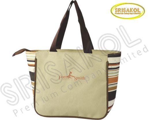 กระเป๋าช้อปปิ้ง สีกากี รหัส A1832-10B