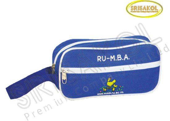 กระเป๋าใส่ดินสอ สีน้ำเงิน  รหัส A1936-11B