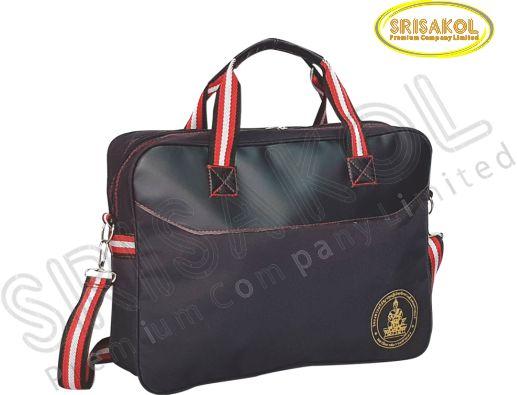 กระเป๋าใส่เอกสาร  สีดำ รหัส A2010-2B