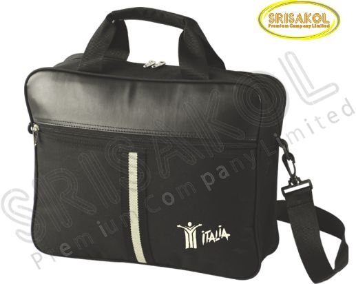กระเป๋าใส่เอกสาร  สีดำ รหัส A1921-15B