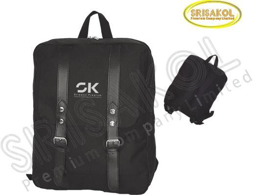 กระเป๋าเป้ สีดำ รหัส A2018-16B