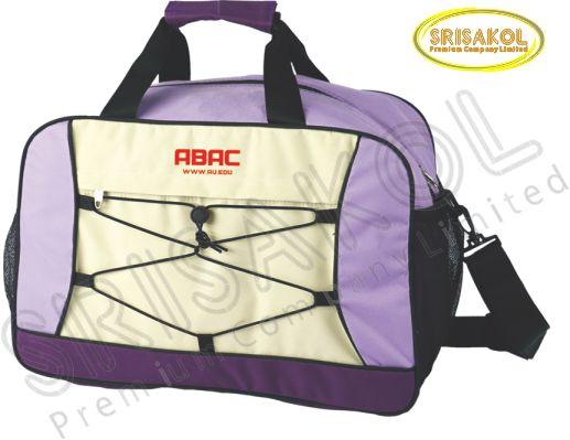 กระเป๋าเดินทาง สีม่วง สลับ สีครีม รหัส A2006-10B