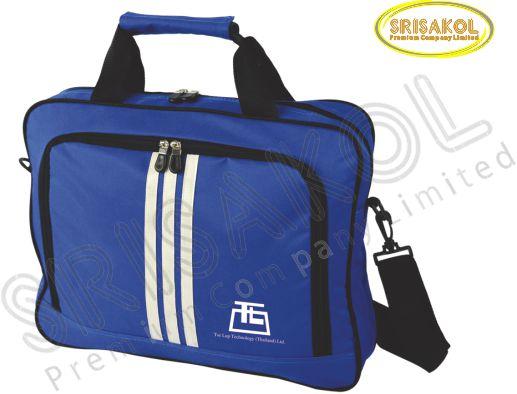 กระเป๋าใส่เอกสาร สีน้ำเงิน  รหัส A2011-3B