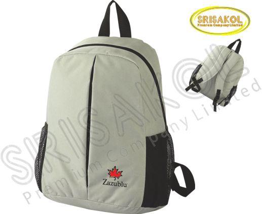 กระเป๋าเป้ สีเทา รหัส A2006-4B