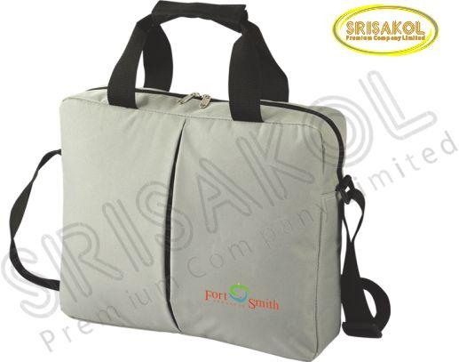 กระเป๋าใส่เอกสาร สีเทา  รหัส A2006-3B