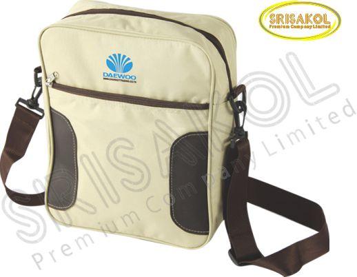 กระเป๋าสะพาย สีครีม รหัส A2014-13B
